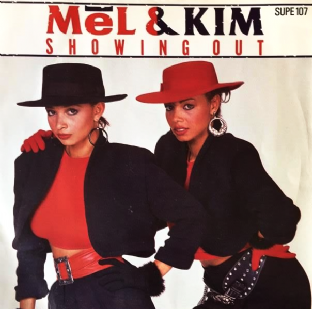 "Mel & Kim - Showing Out (7"") (G-VG/VG)"